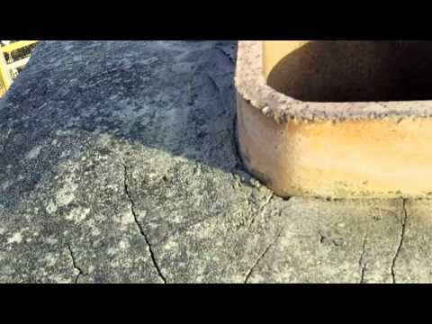 How To Repair A Cracked Chimney Cap Wmv Youtube