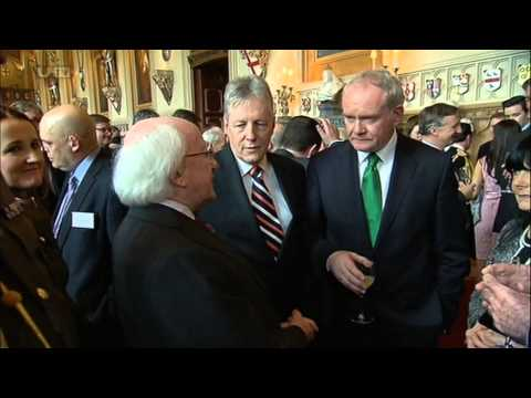 Irish President Michael D Higgins At The Royal Albert Hall