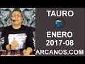 Video Horóscopo Semanal TAURO  del 19 al 25 Febrero 2017 (Semana 2017-08) (Lectura del Tarot)