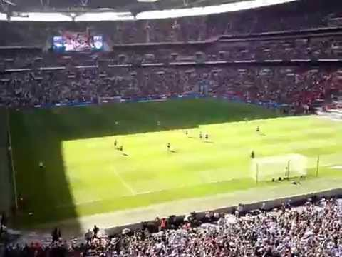 Bobby Zamora Play Off Final goal celebrations