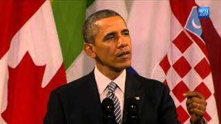 Obama's Full Speech To European Leaders About Russia