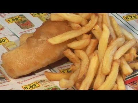 How To Prepare English Fish And Chips With Beer Batter
