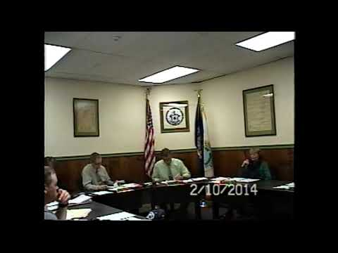 Champlain Village Board Meeting 2-10-14