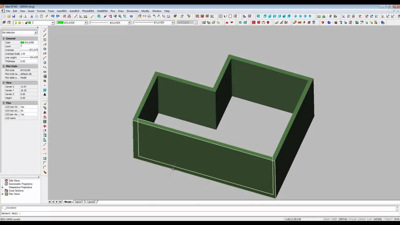 Arquitectura 3d dise o muros puertas y ventanas en 3d for Programa para dibujar en 3d gratis