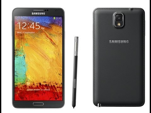 Samsung Galaxy Note 3 (Black) Unboxing and First look *Verizon*