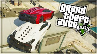 'THE MIGHTY FALL!' GTA 5 Funny Moments (With The Sidemen)