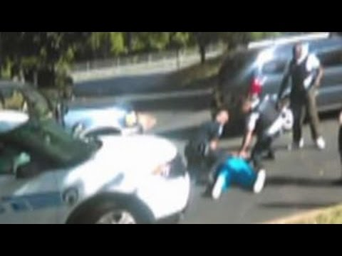 Keith Scott's wife releases cell phone video of shootin