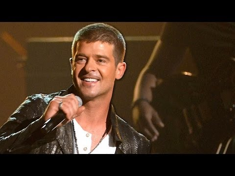 Robin Thicke Sings For Paula Patton - Billboard Music Awards 2014