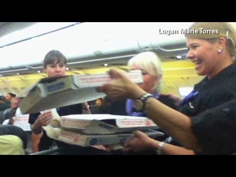 Pizza pilot: Our passengers are family