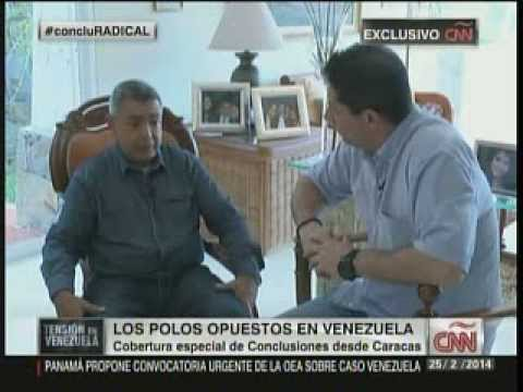 CNN Conclusiones con el General Angel Vivas 1 de 2 25 de Febrero 2014