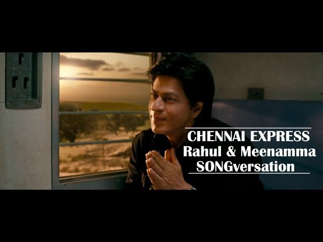 Chennai Express I SRK & Deepika communicate in songs I Movie Scene