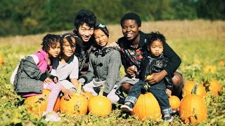 A TRIP TO THE PUMPKIN FARM WITH FAMILY OF 7