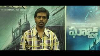 Director Sankalp Reddy Interview About Ghazi Movie
