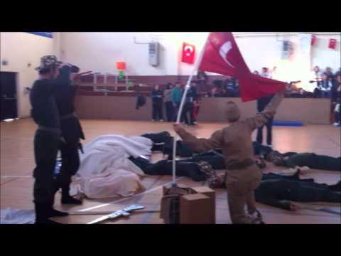 Anka Otizmli Çocukların Tiyatro Göstersi-Çanakkale savaşı canlandırma
