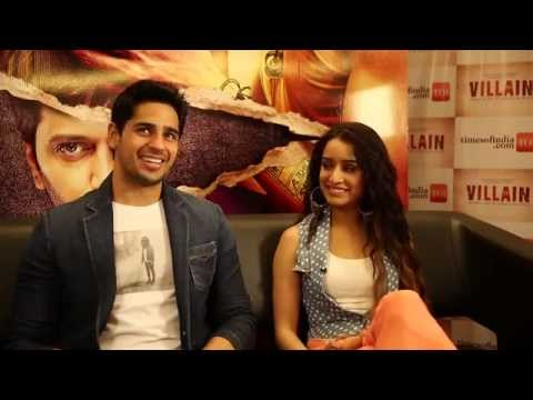 Ek Villain: Shraddha Kapoor and Sidharth Malhotra Exclusive Interview