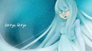 """Megurine Luka Sings """"Let It Go"""" From Frozen"""