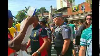 Onde a Seleção Argentina estiver, eles estarão atrás. Desta vez, a 'invasão' portenha é na cidade de São Paulo. Amanhã, a Argentina joga contra a Suiça, na Arena Corinthians, pelas quartas de final e tenta a sorte para avançar na Copa do Mundo.
