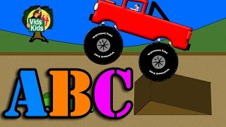 Monster Truck Alphabet - ABCs For Kids