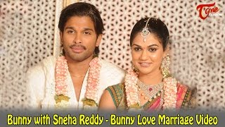 Bunny With Sneha Reddy Bunny Love Marriage Video