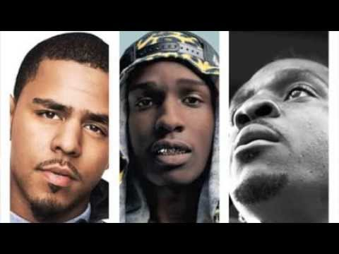 J. Cole, ASAP Rocky & Pusha T - TKO Remix [edit w/o JT]
