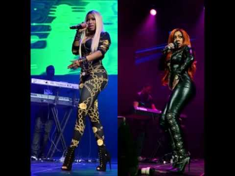 BATTLE OF THE BODY : K.MICHELLE vs. NICKI MINAJ (2013 ... K Michelle Before And After Body