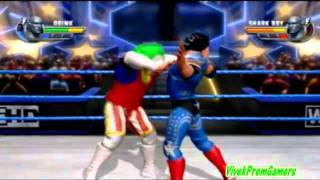 WWE All Stars Doink The Clown CAW Formula Inside +Gameplay