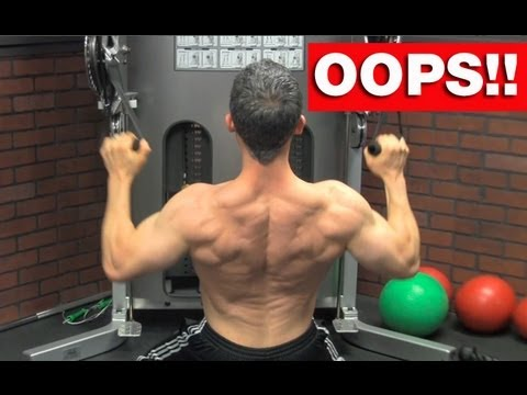 Back Workout Blunders - 5 Back Workout Mistakes to AVOID!