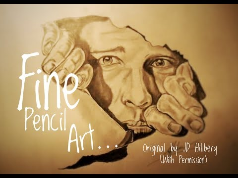 FANTASTIC PENCIL ILLUSION! - watch this! in HD!