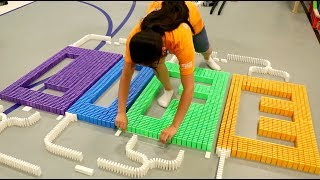 Types of Domino Builders!