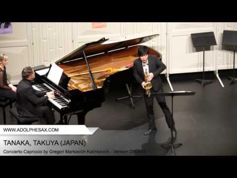 Dinant 2014 TANAKA Takuya (Concierto Capriccio by Gregori Markovich Kalinkovich Version DINANT )