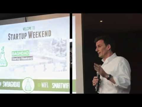 Video of Startup Weekend Baghdad