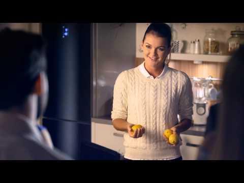 Agnieszka Radwańska w reklamie
