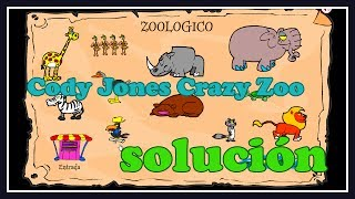 Cody Jones Crazy Zoo Solución
