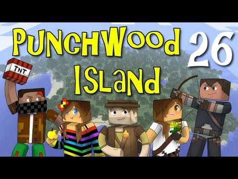"Punchwood Island E26 ""Raiding and Trading"" (Minecraft Family Survival)"