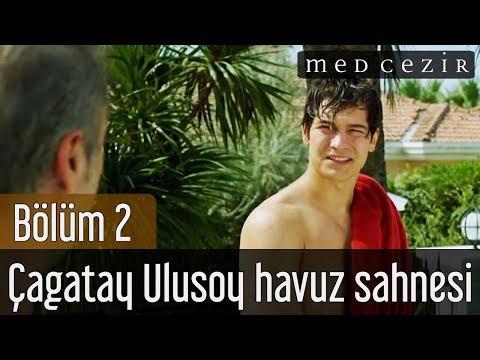Medcezir 2.Bölüm Çagatay Ulusoy Havuz Sahnesi - YouTube