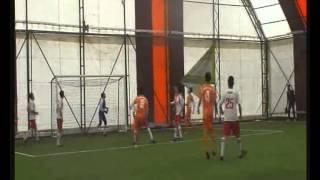 halı saha turnuvasında başkan adayları ilk vuruşu yaptı