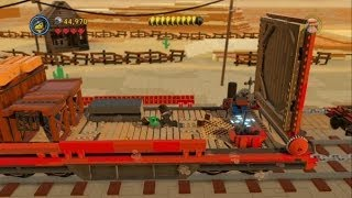 The LEGO Movie Videogame Escape From Flatbush 100% Guide