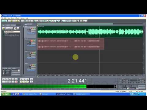 Hát karaoke trên máy tính với Cool edit pro 2.1 (Phần 2)