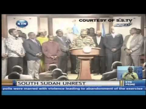 South sudan suffers attempted coup detat