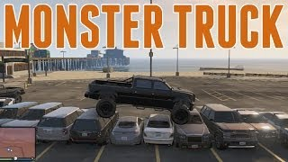 Grand Theft Auto 5 Online : Monster Trucking