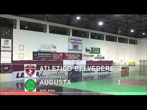 Serie A2, Belvedere-Augusta 4-2 (06/12/14)