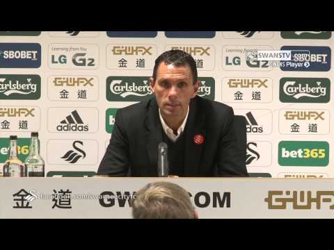 Swansea City Video : Gus Poyet following the 4-0 loss.