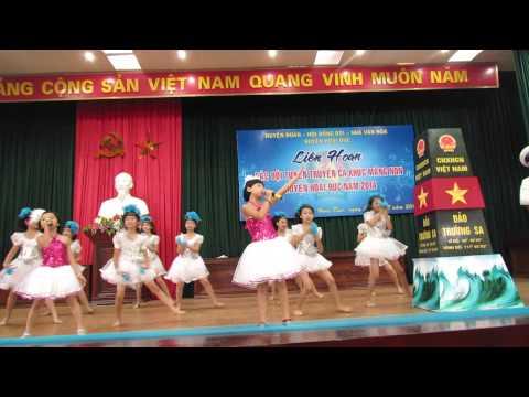 cây phong ba - Minh Ánh + Quỳnh Anh - Thi tuyên truyền ca khúc mang non Huyện Hoài Đức 16-8-2014