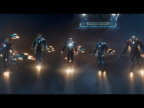 Iron Man 3 -- Official Trailer UK Marvel | HD