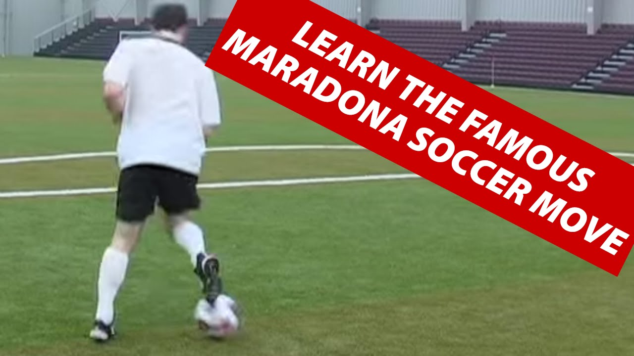how to do the maradona or roulette 360 soccer football