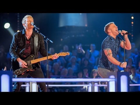 Jimmy Weston Vs Lee Glasson: Battle Performance - The Voice UK 2014 - BBC One