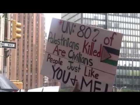 2nd EMERGENCY Protest Supporting Palestine, UN NYC
