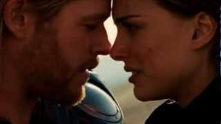 Thor & Jane Kissing Scene