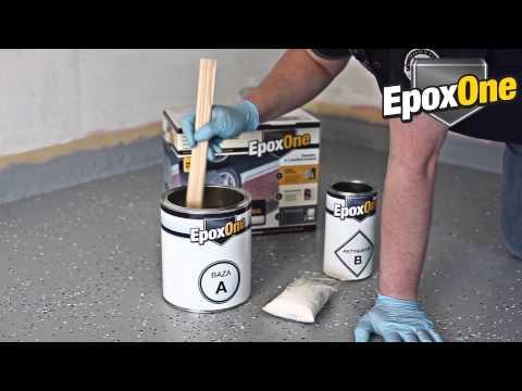 EpoxOne - Akrylowo - poliuretanowa bezbarwna powłoka garażowa
