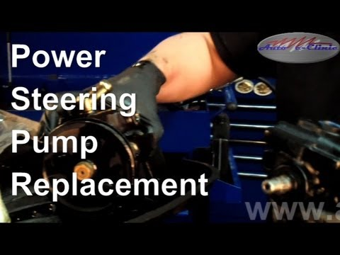 How To Replace A Noisy Or Leaking Power Steering Pump
